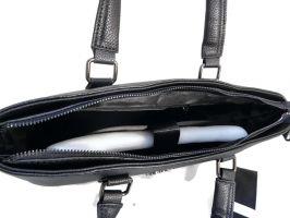 Портфель-сумка из кожи Salvatore Ferragamo 66174 Black_2