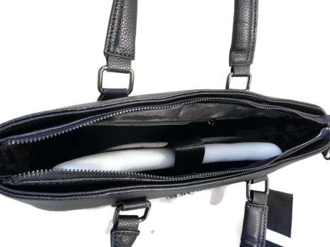 Портфель-сумка из кожи Salvatore Ferragamo 66174 Black