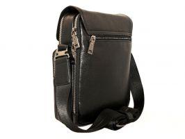 Кожаная мужская сумка H.T 5297 black_1