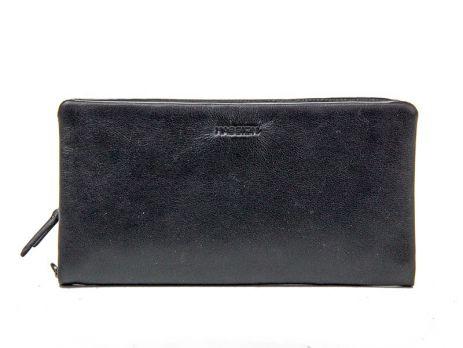 Клатч мужской кожаный Hassion H-018 black