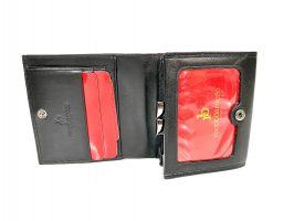 Кошелёк женский кожаный Roccobarocco RB-1003 Black_2
