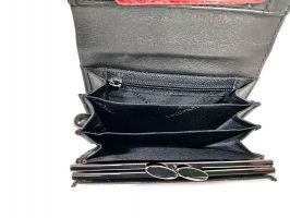 Кошелёк женский кожаный Roccobarocco RB-1003 Black_5