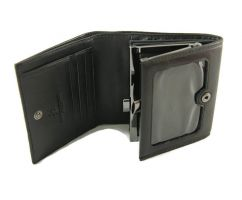 Кошелёк женский кожаный Roccobarocco RB-1003 Black_1