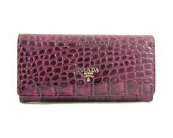 Кошелек женский кожаный Prada 29-165 Purple