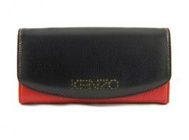 Кошелек женский кожаный Kenzo (Кензо) 5890 black_0