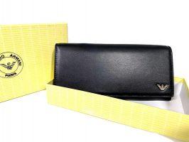 Кошелек женский кожаный Armani GA-381 Black