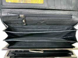Кошелек женский кожаный Armani GA-381 Black_6