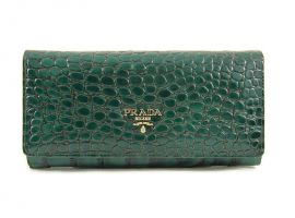 Кошелек женский Prada (Прада) 29-165 Green_0