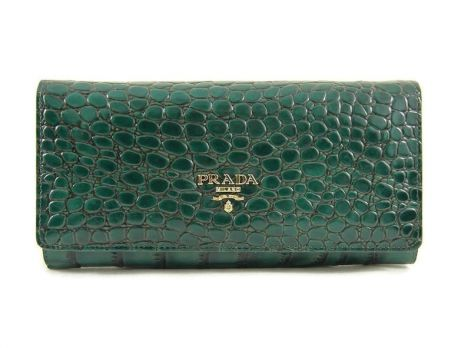 Кошелек женский Prada (Прада) 29-165 Green