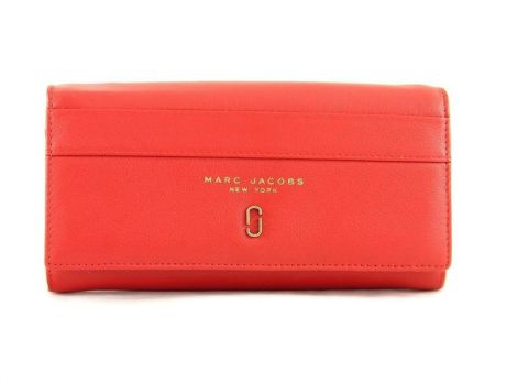 Кошелек женский кожаный Marc Jacobs 1106 E red