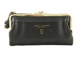 Кошелёк женский кожаный Marc Jacobs 1104 A black_0