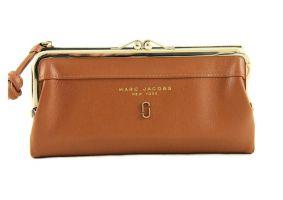 Кошелёк женский кожаный Marc Jacobs 1104 Z brown