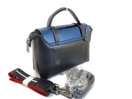 Женская кожаная сумка через плечо APPLAUD 9902 BLUE_1