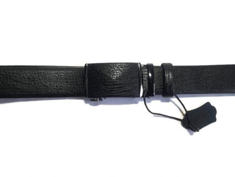 Брючный кожаный ремень автомат H085-2b