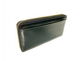 Кожаный женский клатч-кошелек JCCS 3052 black с визитницей_1