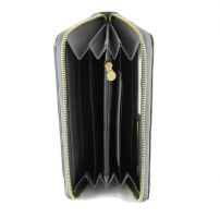 Женский кошелек на молнии Versace V-30105 N Gray_1