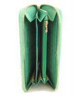 Кошелек женский на молнии Chanel (Шанель) 1814-13 Green_1