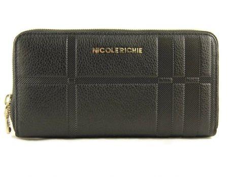 Кожаный женский кошелёк на молнии Nicole Richie 5753 A