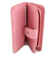 Женский кожаный кошелёк Chanel (Шанель) C0299 Pink_1