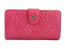 Женский кожаный кошелёк Chanel (Шанель) C0299 Plum
