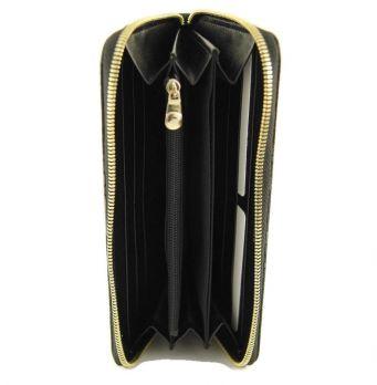 Кошелек женский кожаный на молнии Coccinelle 8262 A (Коксинель)