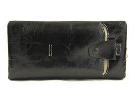 Клатч кожаный LasFero 8192-1 black_1