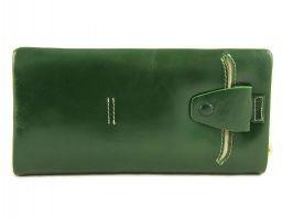 Клатч кожаный LasFero 8192-175 Dark green_1
