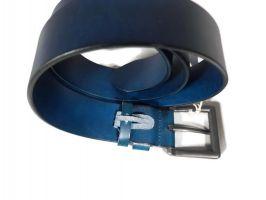 Ремень кожаный Levis (Левис) Blue_1