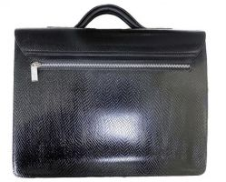 Мужской кожаный портфель MontBlanc (Монблан) L1090-5 3980 Black_1
