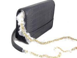 Женская сумочка на плечо Chanel (шанель) 8017 Black_1