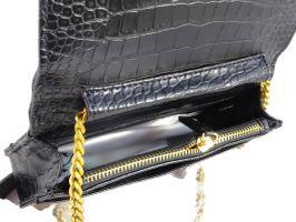 Женская сумочка на плечо Chanel (шанель) 8017 Black_2