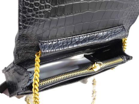 Женская сумочка на плечо Chanel (шанель) 8017 Black