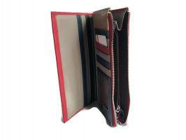 Кожаный женский кошелек Cossroll 12-9701 Красный_2