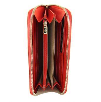Кожаный женский кошелек на молнии Nicole Richie 8152 E