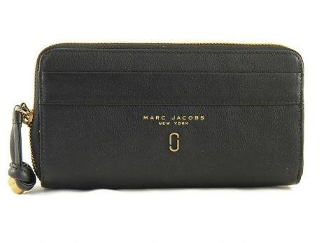 Кошелёк женский кожаный Marc Jacobs 1102 A black