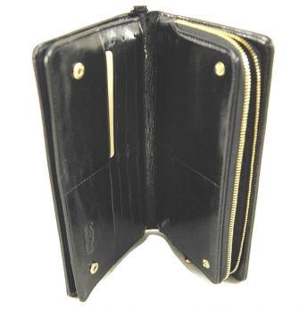 Кожаный женский кошелек-клатч Wanlima