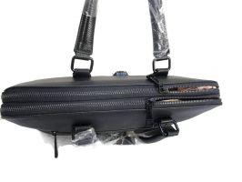 Кожаная деловая сумка Versace (Версачи)_2