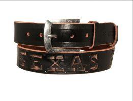 Кожаный джинсовый ремень Техас_6