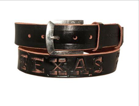 Кожаный джинсовый ремень Техас