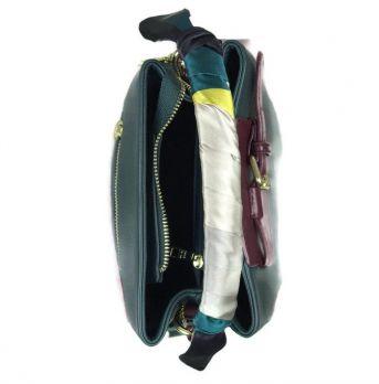 Женская сумка торба NN 9099 green