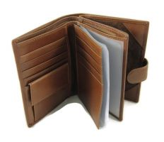 Кошелек кожаный LasFero 12-720 с отделом под паспорт_1