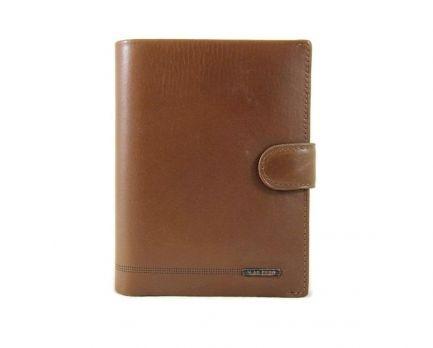 Кошелек кожаный LasFero 12-720 с отделом под паспорт