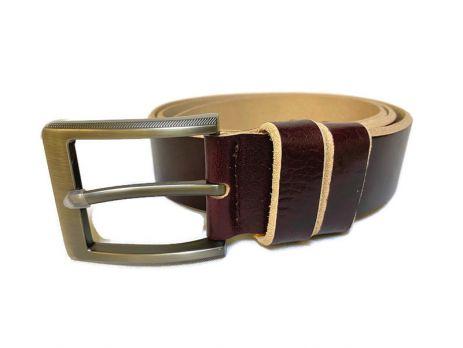 Ремень кожаный Premium 673