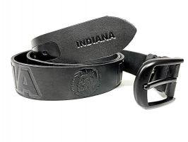 Ремень кожаный Indiana black_1