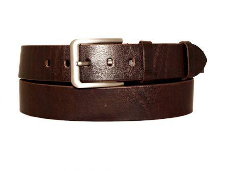 """Ремень мужской кожаный """"Медведь"""" RMJ-4503"""