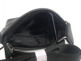 Сумка планшет кожаная AJ A04 Black_2