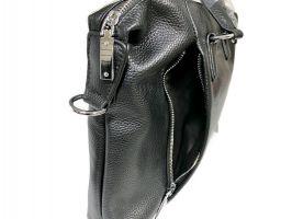 Мужская кожаная деловая сумка Heanbag 66314H Black_3