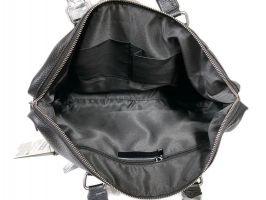 Мужская кожаная деловая сумка Heanbag 66314H Black_5