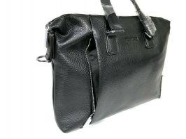 Мужская кожаная деловая сумка Heanbag 66314H Black_2
