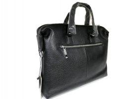 Мужская кожаная деловая сумка Heanbag 66314H Black_4